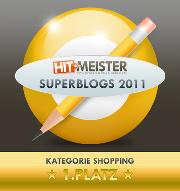 Reichweite wurde Superblog 2011